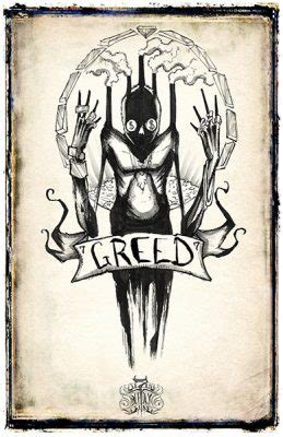 deadly sins illustrated  creepy creatures