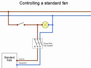 Standard Exhaust Fan Wiring Diagram
