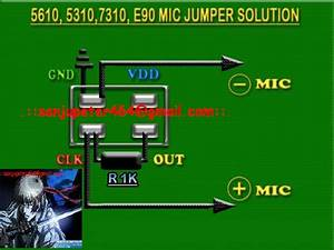 Cellfirmware  Nokia 5130 Mic Jumpering Problem Solution