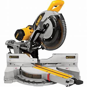 FREE SHIPPING — DEWALT 12 In. Sliding Compound Miter Saw ...