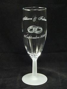 Verre A Champagne : flute a champagne gravure ~ Teatrodelosmanantiales.com Idées de Décoration