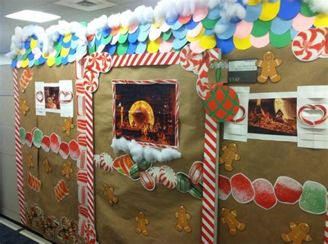 giner bread cubicle christmas decorations 24 best images about gingerbread cubicle on cubicle decorations decorating ideas