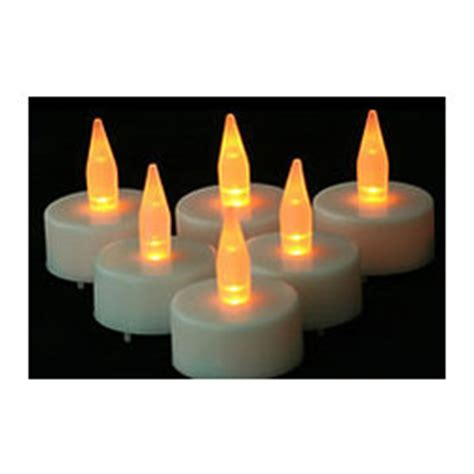 automatic tea light candles led tea lights with automatic timer findgift com