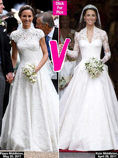 Pippa Middleton Vs. Kate Middleton: Whose Stunning Wedding Dress Did You Like Better? ? Epeak
