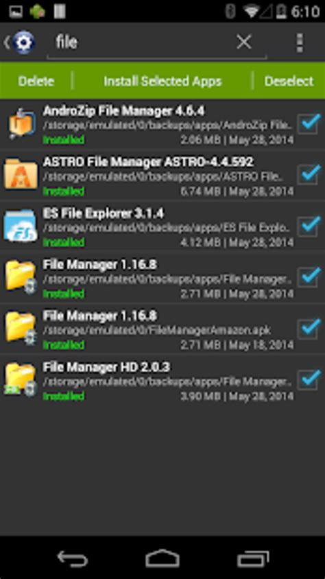 installer install apk for android