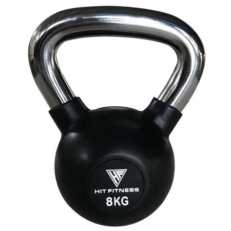 kettlebell handle 8kg chrome