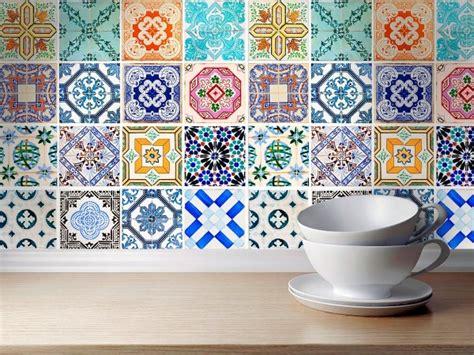 carrelage autocollant sticker mosa 239 que murale enjolivement de salle de bains stickers