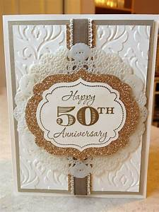 catherine loves stamps wedding anniversary cards pinterest With 50th wedding anniversary cards