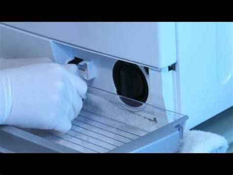 entretenir son lave linge bosch ma machine ne vidange pas youtube