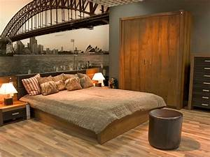 Papier peint trompe l oeil chambre ado 204211 gtgt emihem for Attractive idees pour la maison 3 papier peint panoramique trompe loeil vitre avec perspective
