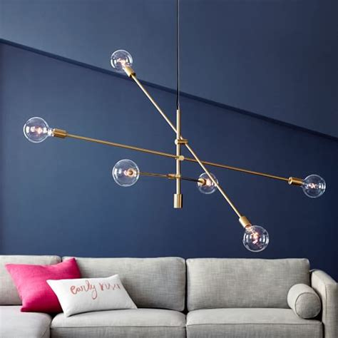 mobile chandelier grand west elm