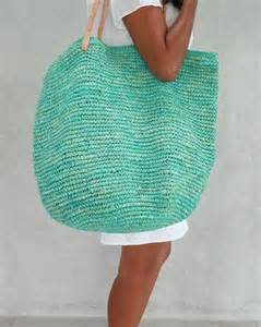 Large Straw Beach Bags