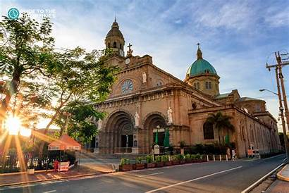 Manila Philippines Historical Intramuros Places Travel Cathedral