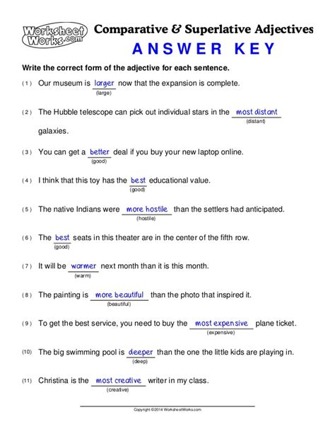 Collections Of Worksheet Works Answer Key,  Easy Worksheet Ideas