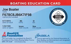 Age For Boating License In Nc by Carolina Boating Safety Course Boatus Foundation