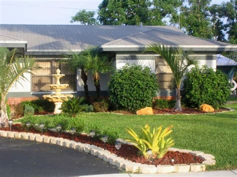 Florida Landscaping Ideas For Front Of House  Newest Home