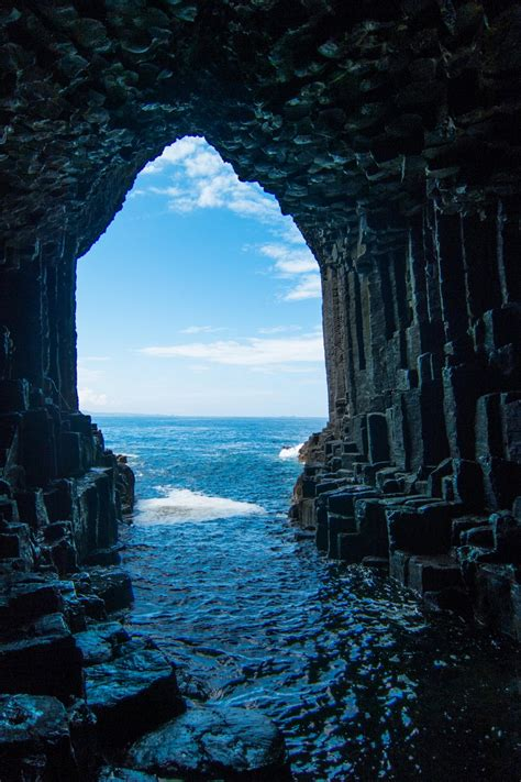 fingals cave isle  staffa  time  visit top