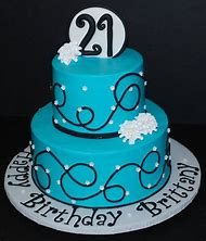 Girls 21st Birthday Cake Ideas