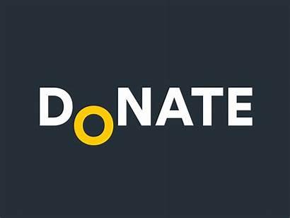 Donate Animation Donation Animated Logos Dribbble Cool