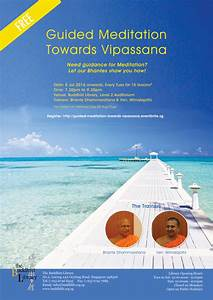 Past Event – Guided Meditation Towards Vipassana – The ...
