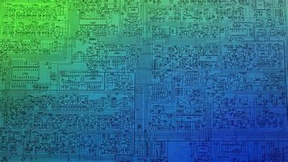 Cpu Schematic Microchip Blueprints Technology Wallpapers Anime