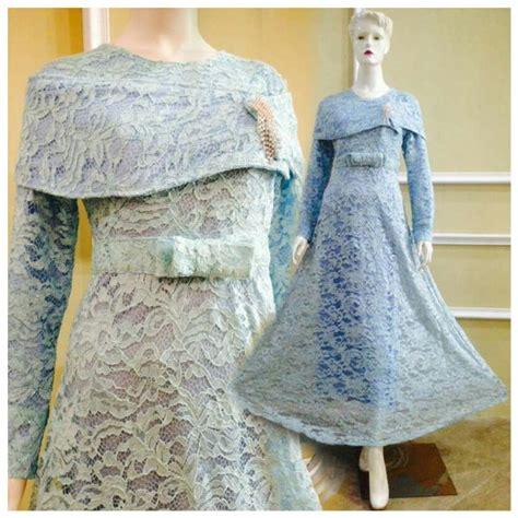 jual dress gamis kaftan brokat muslim cantik murah modern