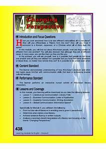 Dep Ed Grade 8 English Learning Guide Quarter 4