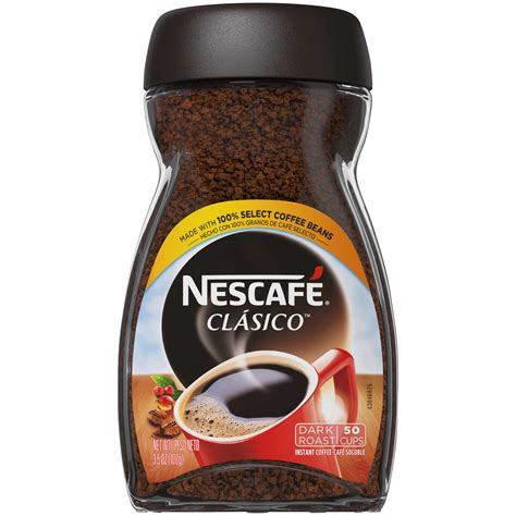 Instant coffee is a type of coffee that is consumed on a large scale throughout the world. Nescafe Instant Coffee 1/ 3.5oz   Frank Silva & Sons