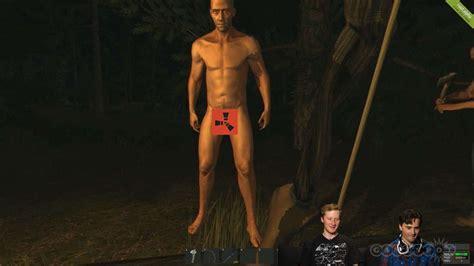 rust naked nsfw pants screen