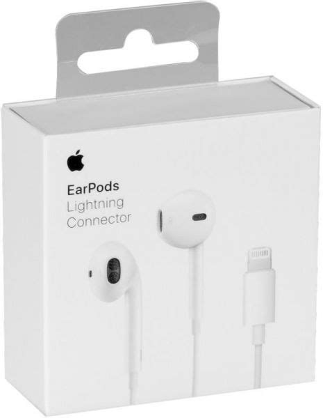 Original Apple Lightning Earpods with Mic for iPhone 7, 8, X