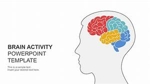 Brain activity powerpoint template for Powerpoint theme vs template
