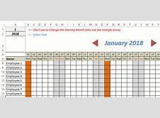 excel holiday planner template free excel leave tracker