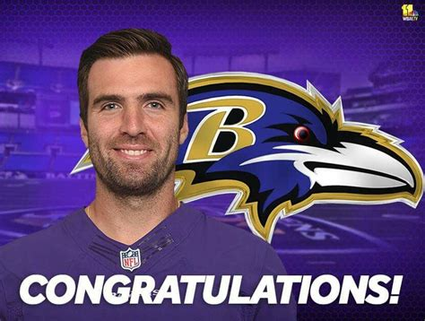 CONGRATULATIONS to Joe Flacco and family on the birth ...