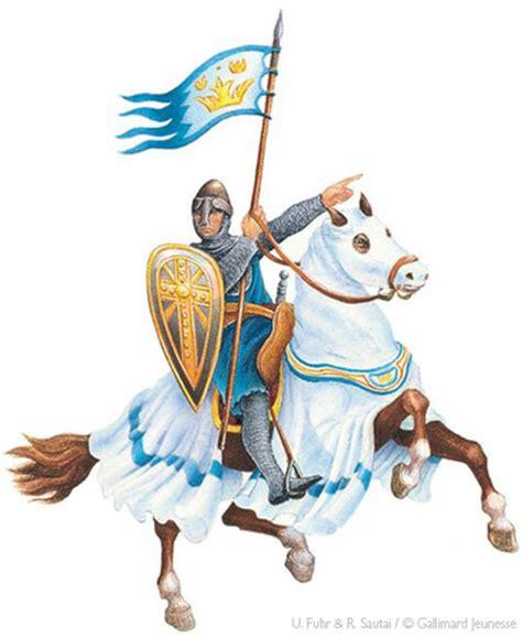 Chevalier Au Combat  Les Châteaux Forts