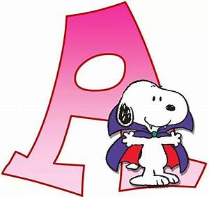 1000 images about peanuts on pinterest peanuts With snoopy letters