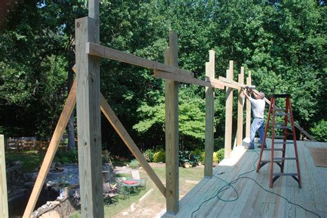 deckscom building  shed roof   deck