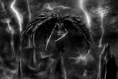 Angel Dark Wallpapers Fallen Angels Male Anime