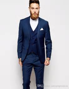 blue tuxedos for weddings aliexpress buy 2016 new arrival tuxedos blue wedding suits for 3 pieces suits