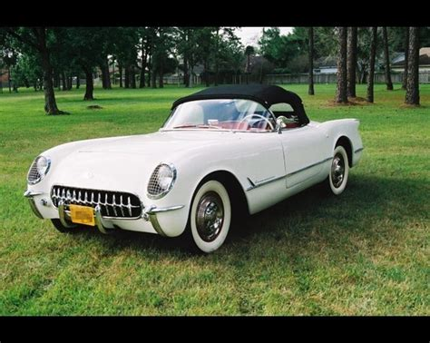 1953  Chevy Corvette Is A Sports Car By The Chevrolet