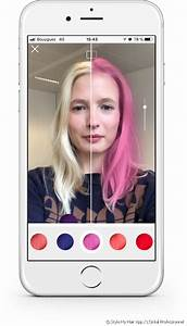 Style My Hair The 3D App That Lets You Try On Hair Color