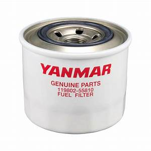Genuine Yanmar Marine Diesel Fuel Filter 119802-55801