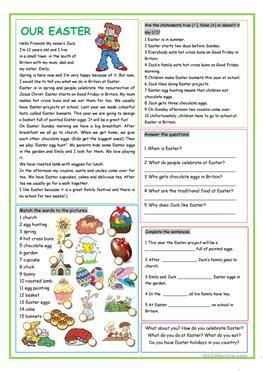 english esl easter worksheets  downloaded  results