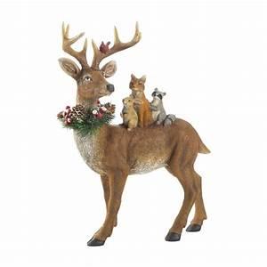 Standing, Woodland, Reindeer, Decor