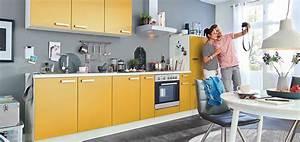Gelbe kuchen sonnenschein hereinlassen mobel kraft for Gelbe küche