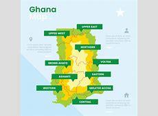 Ghana Map Vector Download Free Vector Art, Stock
