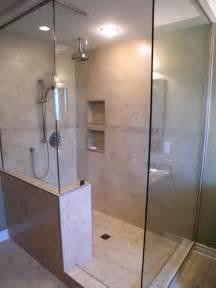 bathroom shower doors ideas walk in shower ideas remodeling contractor