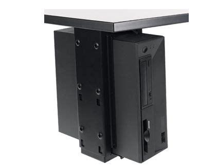 Cpu Holder Desk Mount Uk by Desk Cpu Holder With Slide Swivel Populas