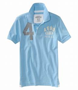Aeropostale Mens Solid Rugby Polo Shirt | Mens Apparel ...