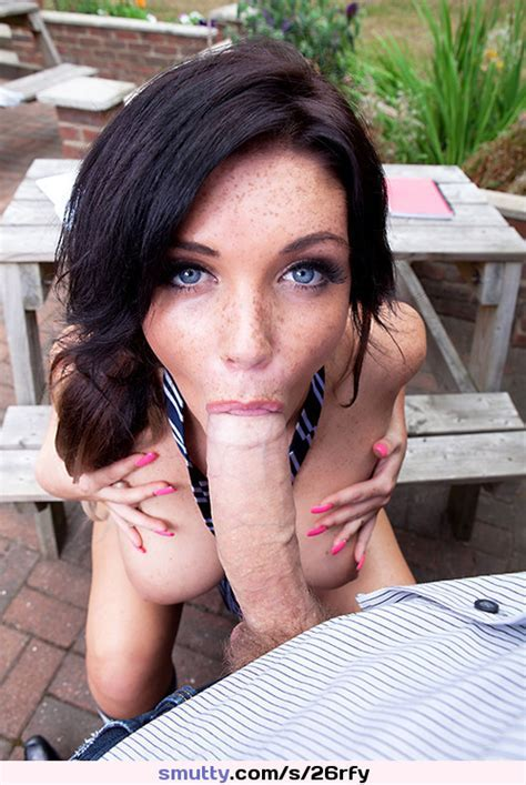 Cute Gorgeous Brunette Bigboobs Blowjob Freckles Milf Babe Sexy Adorable Eyes