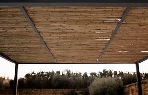 Pergola En Bambou : pergola shibuya autoport e mobile extensible de unopiu ~ Premium-room.com Idées de Décoration